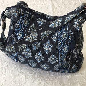 Vera Bradley Handbag Blue and White
